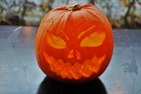 Halloweenhygge på cafeen